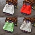 De dibujos animados de Celosía Niños Hoodies 2016 de Primavera Casual Baby Boy Sudaderas Niños Camiseta Ropa de Los Muchachos Niños Que Arropan El Envío Libre