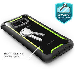 Image 5 - For Samsung Galaxy S8 Plus Case Original i Blason Ares Series Full Body Rugged Clear Bumper Case with Built in Screen Protector