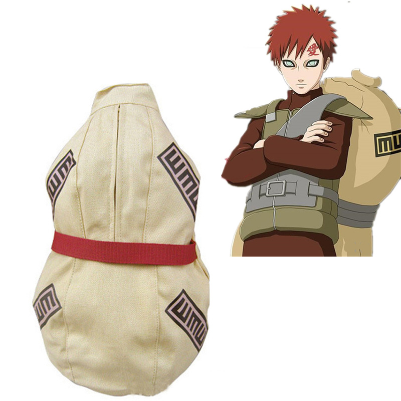 Kids NARUTO Sabaku No Gaara Backpack Cosplay Bag Anime Gourd Backpacks Canvas Children Christmas Halloween Props Gifts