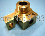 Seibu S861 Brass Holder / Seat 54mm*40mm*34mm of Lower Machine Head, for EW-F,K,K1 WEDM-LS Wire Cutting Machine Parts