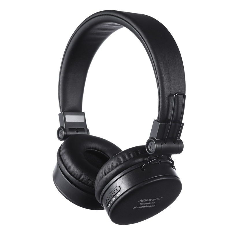 Hisonic Bluetooth Headset Wireless Headphones Stereo Foldable Sport Earphone Microphone Gaming Cordless Auriculares Audifonos awei t2 wireless bluetooth earphone tws stereo headset cordless ecouteur for phone auriculares with microphone bluetooth v4 2