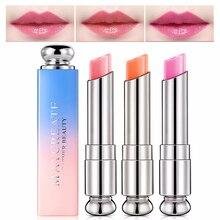 1Pcs Color Change temperature Lipstick Long Lasting Moisturizing Lips Care Discoloration Lip Pencil Glossing