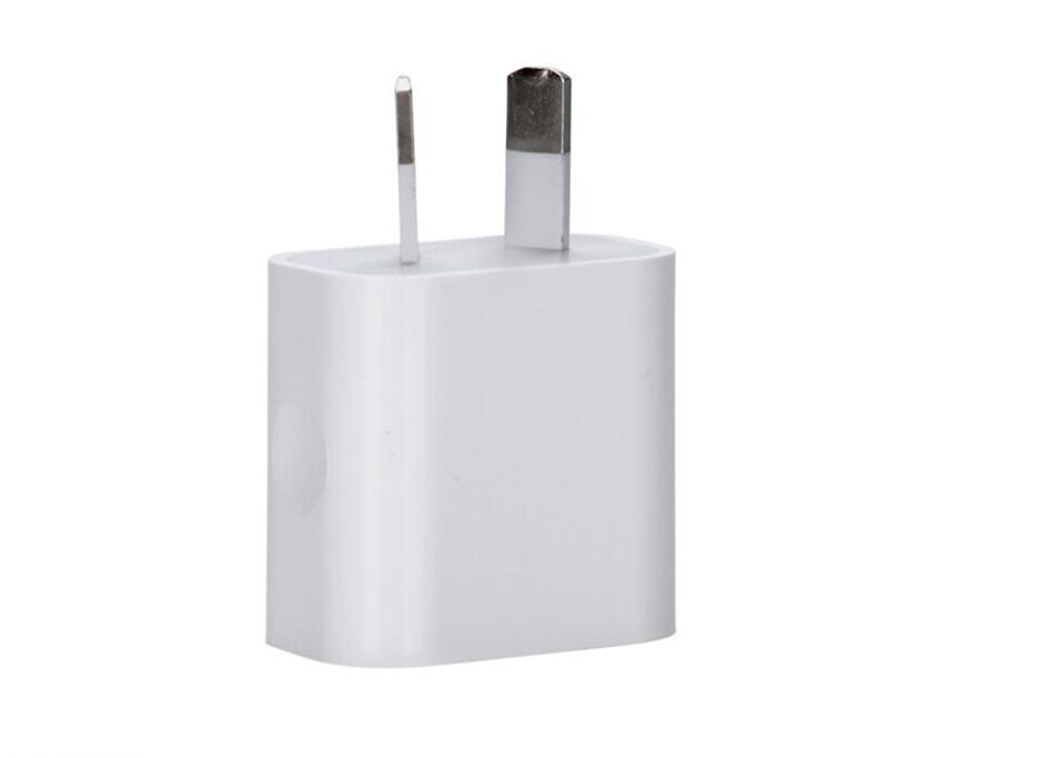 Universal 5V Australian AU Plug USB Wall Charger Travel AC small square Power Adapter for iPhone