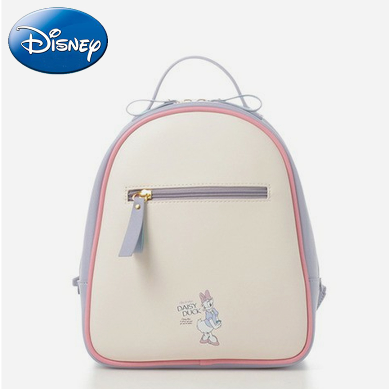 DISNEY 2019 New Women Daisy Duck Travel Backpack Storage Diaper Bags Girl Fashion Student Book Bag Waterproof Backpacks Gift
