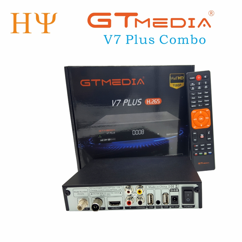 3PCS/LOT GTMEDIA V7 PlUS 1080P Full HD DVB-S/S2+T/T2 Support H.265 4-digit LED display Support PowerVu DRE & Biss key 100 pcs ld 3361ag 3 digit 0 36 green 7 segment led display common cathode