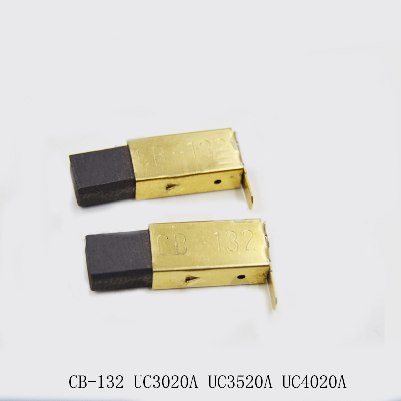 Free shipping! Carbon Brush For Makita CB-132 UC3020A UC3520A UC4020A Electric hammer,High-quality! запасная часть щетка графитовая makita cb 132 191972 1