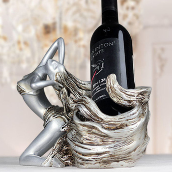 Wine rack decoration luxury living room cabinet Decor creative dining table decoration Valkyrie housewarming gift