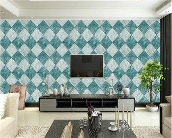 beibehang wallpaper for walls 3 d Vinyl wall 3D marble style PVC lattice wallpaper papier peint mural 3d wallpaper rol l behang
