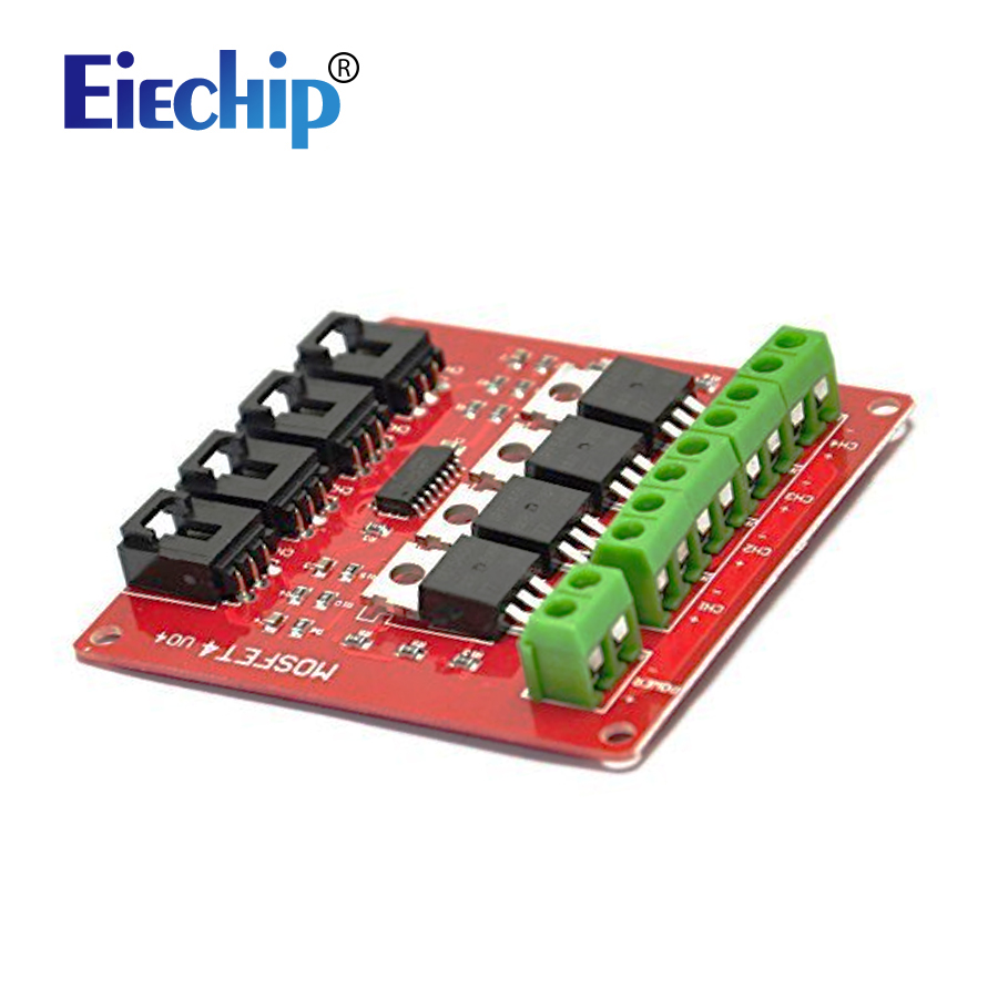 Four Channel 4 Route Mosfet Button Irf540 V40 Switch Module Switching Short Circuit Protection Need Help For Arduino In Integrated Circuits From Electronic Components Supplies On