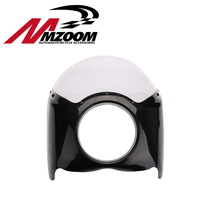 FREE SHIPING New Arrived Wide Glide Custom Mid Motorcycle Headlight Plastic Front Fairing Kit For Harley