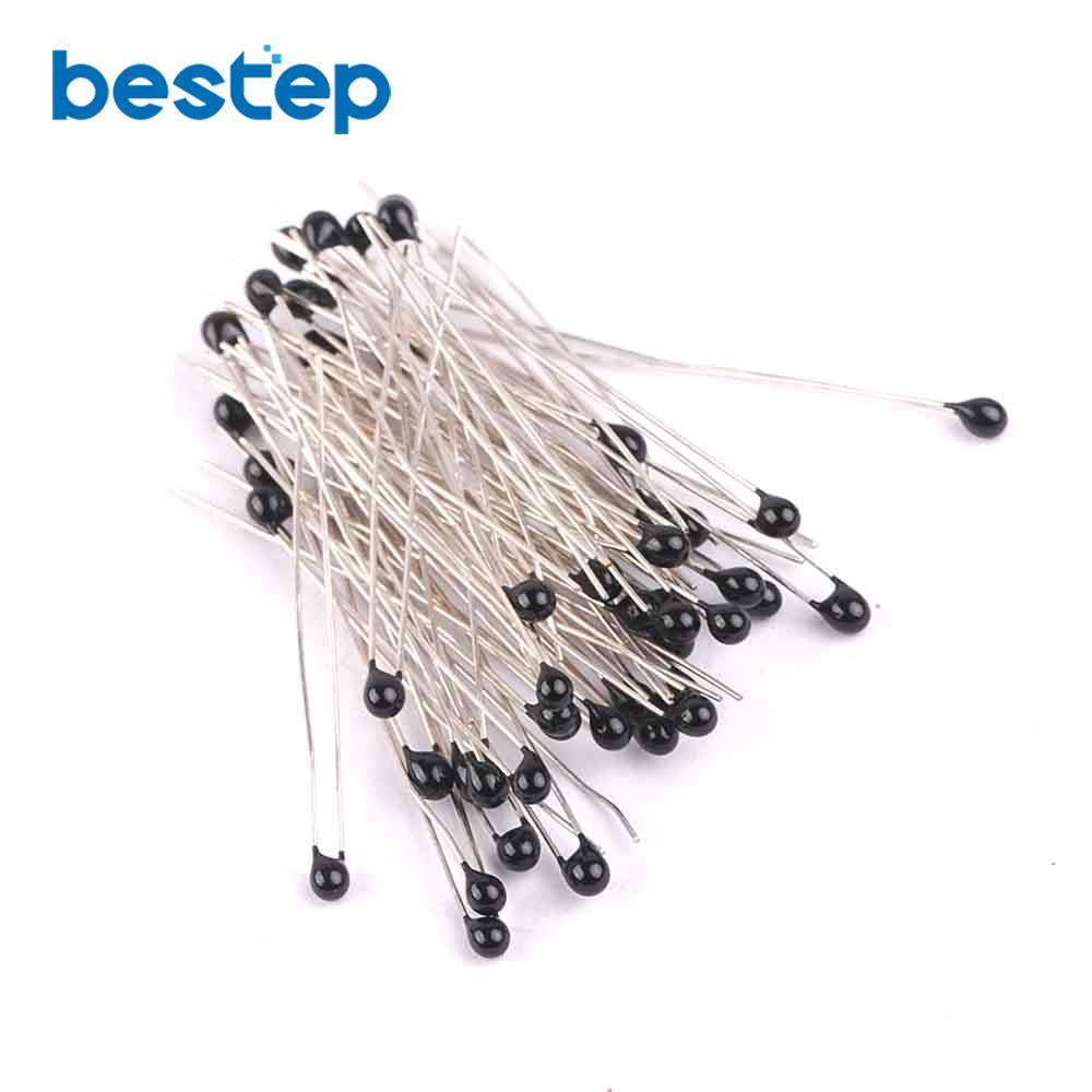 100PCS <font><b>3k</b></font> <font><b>OHM</b></font> NTC Thermistor <font><b>Resistor</b></font> NTC-MF52AT <font><b>3K</b></font> +/-5% image