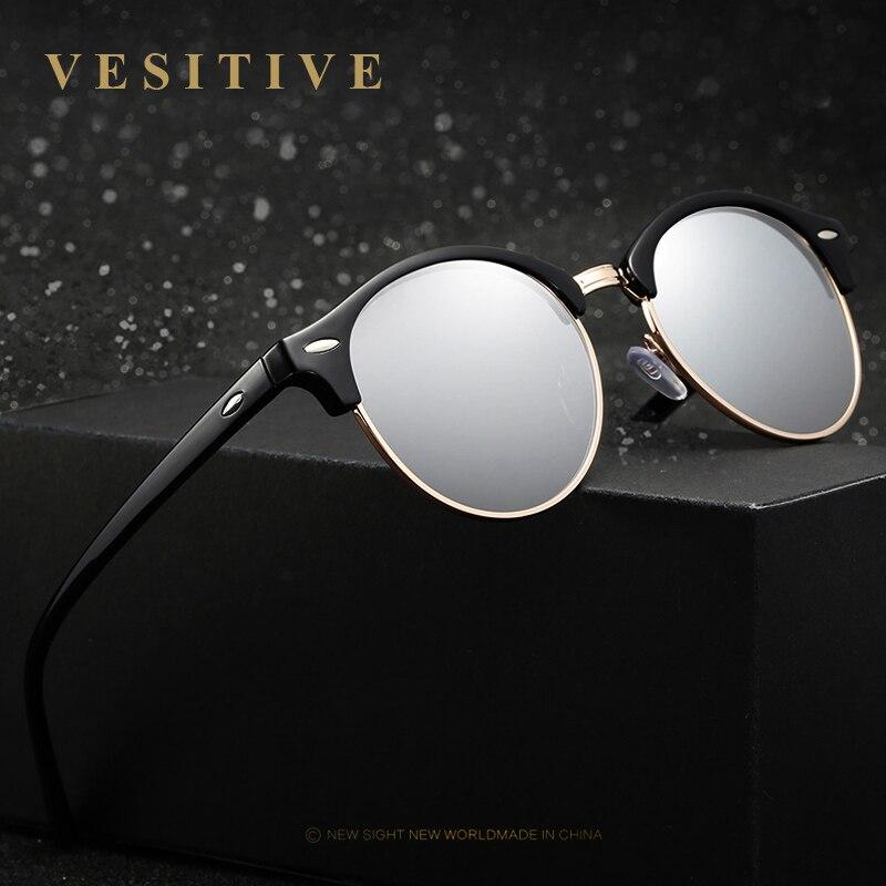 2017 New Polarized Vintage Retro Round Banned Sunglasses Women Luxury Sun Glases Female Brand Designer Oculos De Sol Feminino