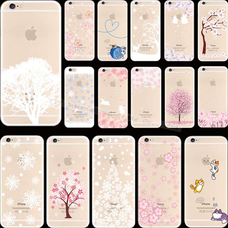 6 6S Originality Design Painting Cute Cat Silicon Phone Cover Cases For Apple iPhone 6 iPhone 6S iPhone6 Case Shell Top Best Hot