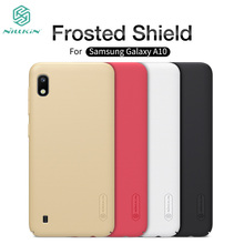 For Samsung Galaxy A10 Case Cover Nillkin Frosted Shield Hard PC Back Phone Cover For Samsung Galaxy A10 nillkin protective matte frosted pc back case cover for samsung galaxy alpha g850f champagne gold