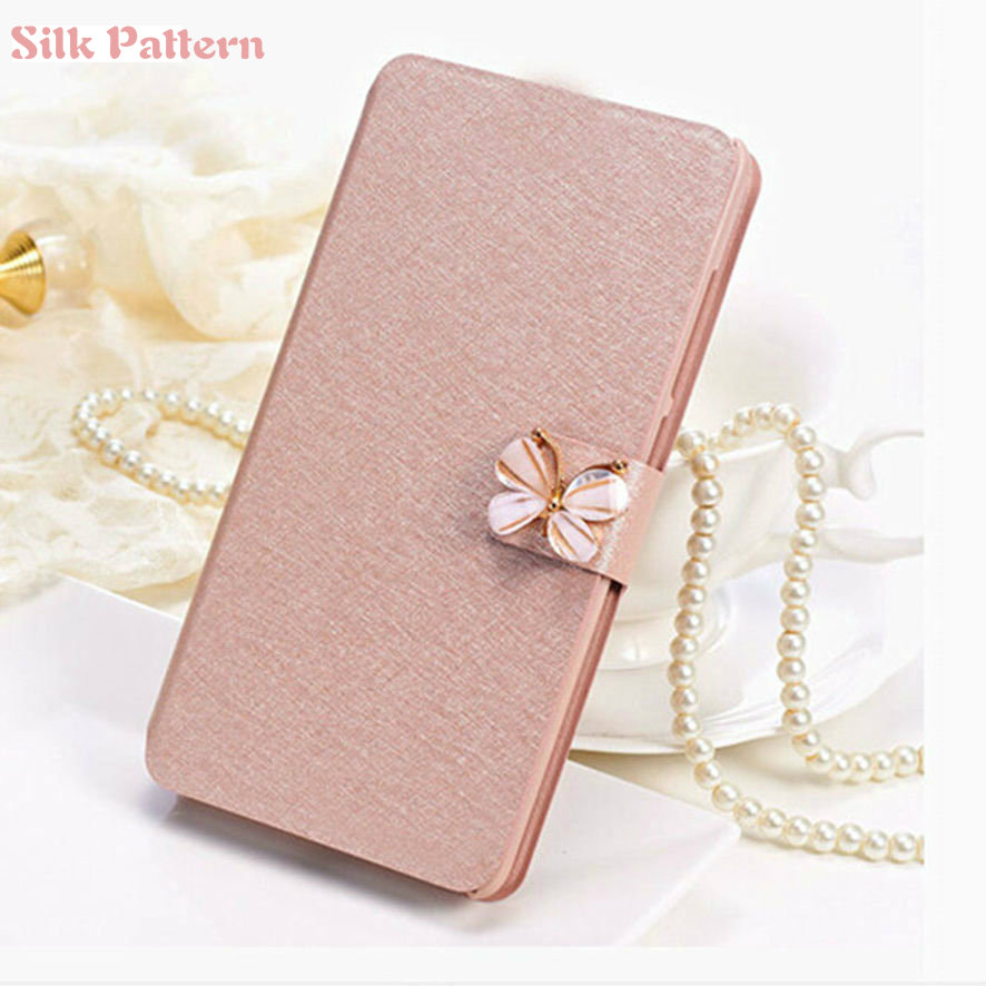 Silk Texture Leather Flip <font><b>Case</b></font> for <font><b>Huawei</b></font> Y3 Y5 Y6 Y7 Y9 Prime 2017 <font><b>2018</b></font> <font><b>Case</b></font> On The <font><b>Y</b></font> 3 5 6 7 <font><b>9</b></font> 3y 5y 6y 7y 9y Phone Bag covers image