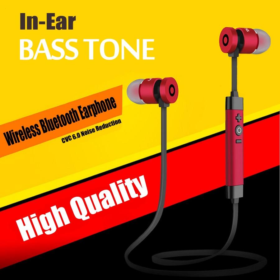 Hot Sale In-Ear Bluetooth Earphone Sport Wireless Earphone With Mic Sweatproof Stereo Handsfree Cordless Wireless Earpiece 2016 hot sale mini bluetooth in ear earphone handsfree for iphone galaxy lg