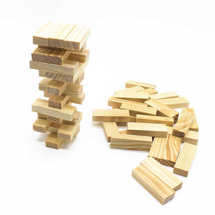 48 шт. мини Размеры Деревянные домино укладчик экстракт здания развивающие игрушки, мозаика, игрушки для детей, подарок на день рождения игрушка montessori