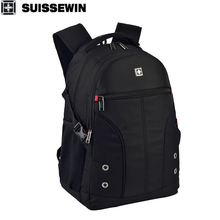 b66d1667f7 SUISSEWIN 2018 New Men business backpacks teenagers bag School Students  backpacks Travel backptop compute laptop bagpack · 2 Colors Available