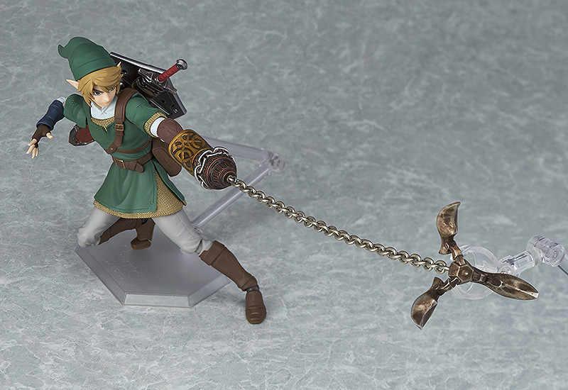 2019 New arrival Zelda Skyward Sword Ligação Figma 320 Figura de Ação DO PVC Collectible Modelo Crianças Brinquedos Boneca