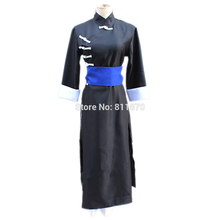 Gintama kagura cosplay dress dress vestido chino cheongsam de las mujeres túnica trajes de anime