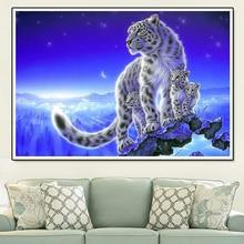 Diamond Painting Resin Animal 5D Flower Leopard Cross Stitch Diy Embroidery Set Embroidery. Custom Photo