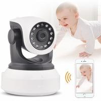 Hot Sell HD 720P Wireless WIFI IP Camera Indoor Night Vision Mini CCTV Camera PTZ Network