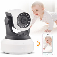 Hot Sell HD 720P Wireless WIFI IP Camera Indoor Night Vision Mini CCTV Camera PTZ Network