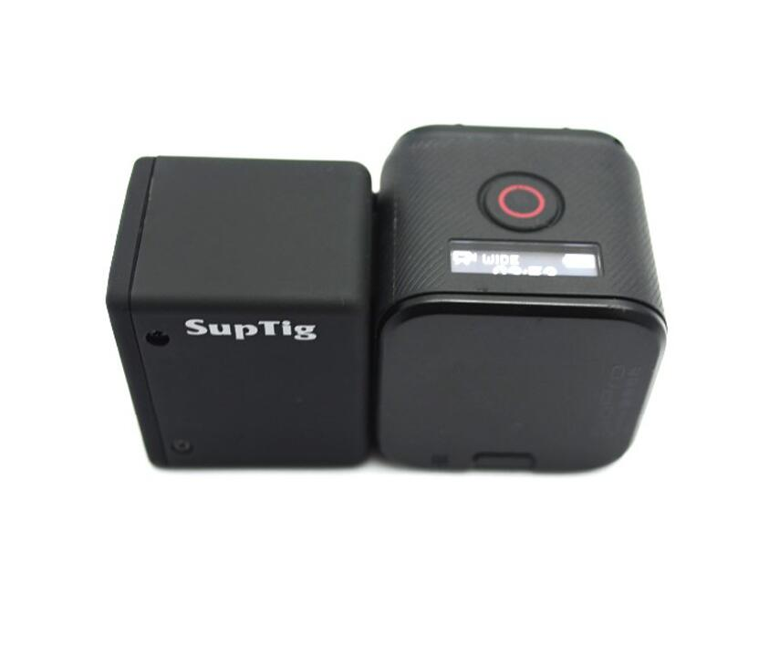 Suptig For GOPRO4 SESSION battery 1050MA extended battery+waterproof case for GOPRO HERO SESSION/4s