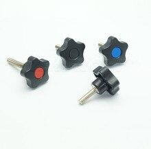 TF01002 M6x32xL  Plastic knob ,plastic lobe