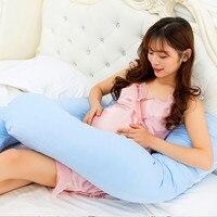 1Pcs Fashion 70x120cm U shape Hold abdominal waist pillows Pregnant women side sleeping pillow Pregnant women supplies