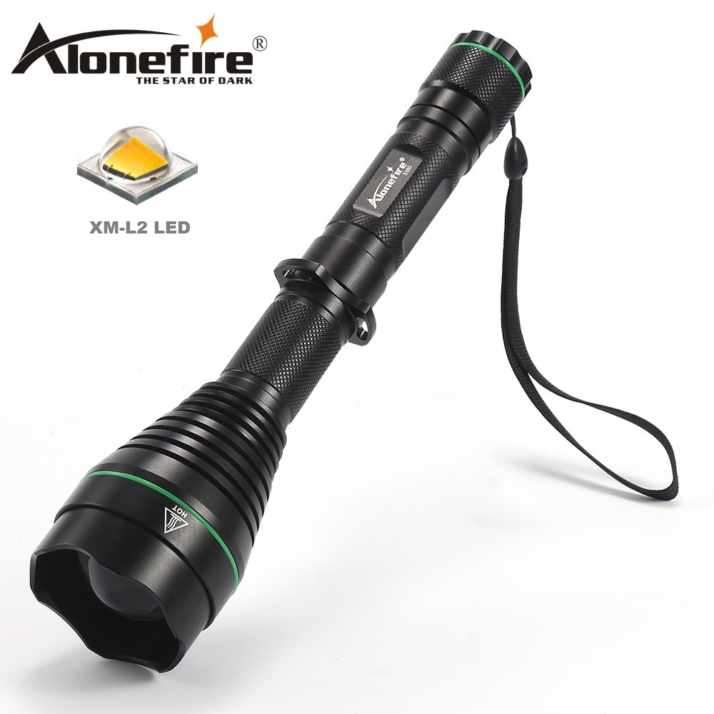 AloneFire X480 led flashlight tactical flashlight Cree XM L2 LED Waterproof for hunting утюг braun is 5044bk