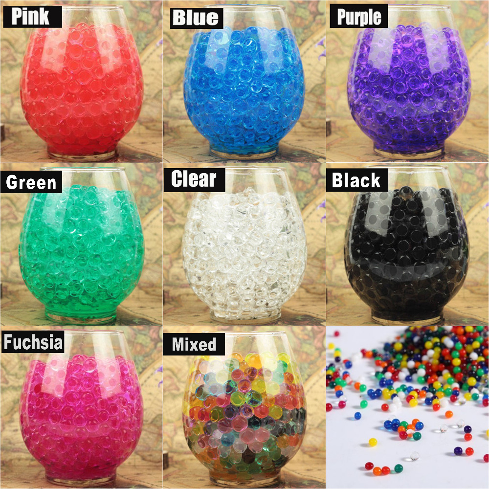 10g bag pearl clear vase filler shaped crystal soil water beads 10g bag pearl clear vase filler shaped crystal soil water beads mud grow magic jelly balls home decor soil wholesales in crystal soil from home garden reviewsmspy