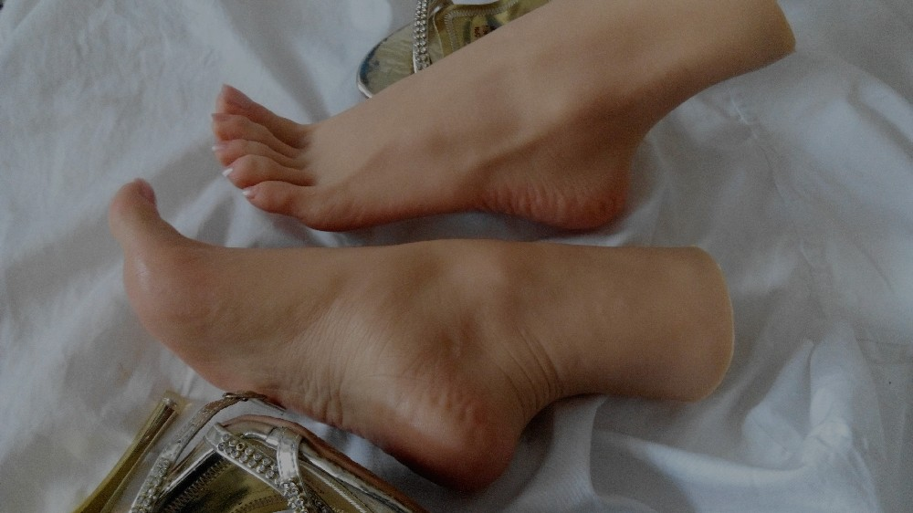 Sexy girls feet coffee have faced