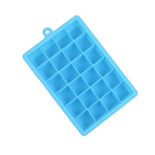 24 cavité carré en forme de silicone diy chocolat de petit gâteau