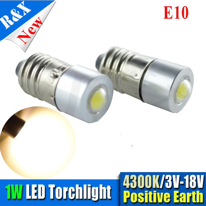 Pair Super bright 1W E10 Epistar COB LED White/warm white MES Miniature Screw Bulb MOTOR BIKE Light DC3-18V brand new black color lcd for htc one sv c525e lcd display with touch screen digitizer free shipping with tools 1pcs