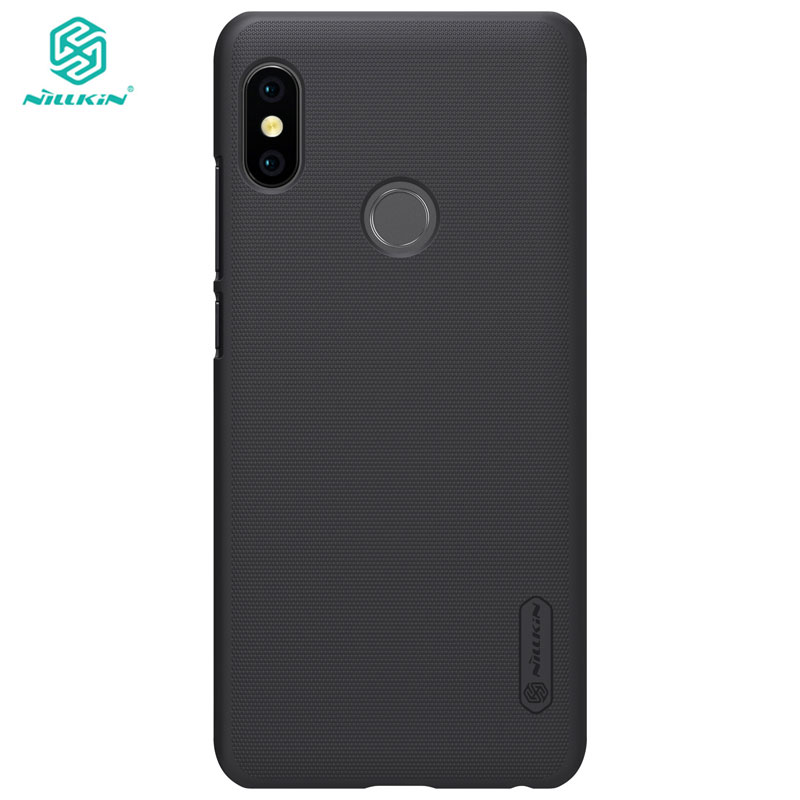 Xiaomi Redmi Note 5 Case NILLKIN Frosted PC Hard Cover Case voor Xiaomi Redmi Note 5 6 Pro Global versie 5.99 inch