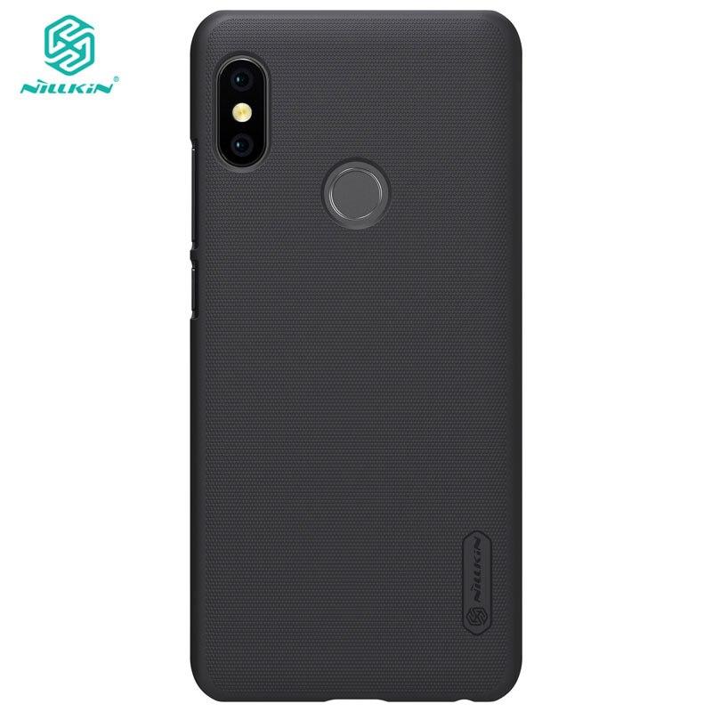 Xiaomi Redmi Nota 5 Caso NILLKIN Fosco PC Rígido de Volta Caso Capa para Xiaomi Redmi Nota 5 Pro Versão Global 5.99 polegada com Filme
