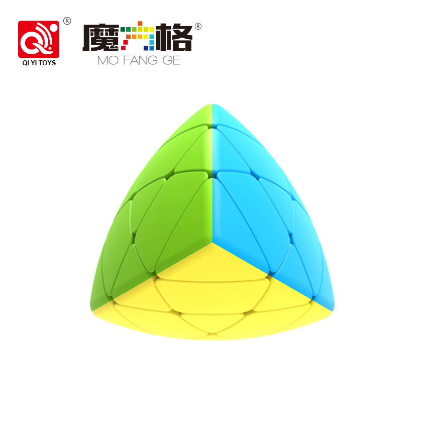 Mongfangge Mastermorphix Rice Dumpling Magic Cube Speed Puzzle Special Pyramid Cube Educational Learning Toys For Children qiyi mastermorphix rice dumpling magic cube professional speed puzzle stickerless learning educational cubo magico toys for kid