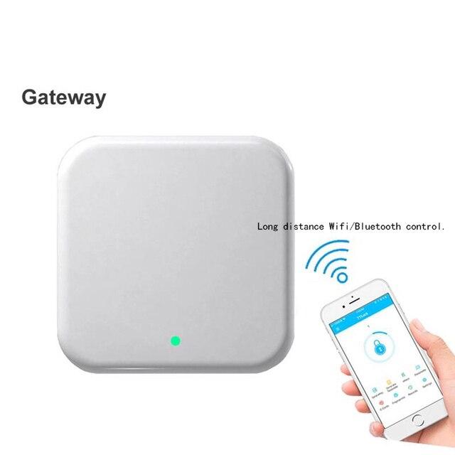 G2 Gateway TT Lock App pilot Bluetooth inteligentny elektroniczny zamek do drzwi pilot z USB interfejs zasilania adapter wifi