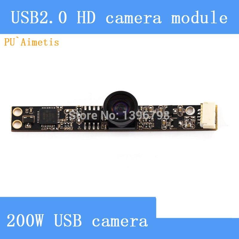все цены на PU`Aimetis Industrial,computer,smart TV HD megapixel camera module USB2.0 drive free wide-angle 130degrees surveillance camera онлайн