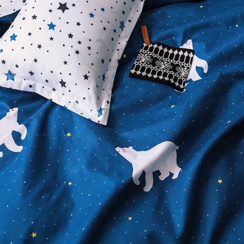 Solstice Home Textile Cartoon Polar bear Bedding Sets Children's - Home Textile - Photo 4