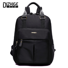 DIZHIGE Brand Fashion Large Capacity Waterproof Oxford Women Backpack Solid High Quality Travel Bag Casual Female School New