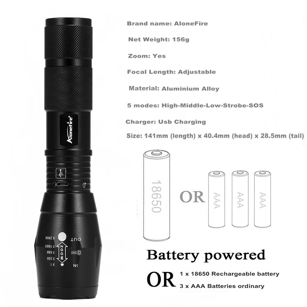G700-U led flashlight (18)