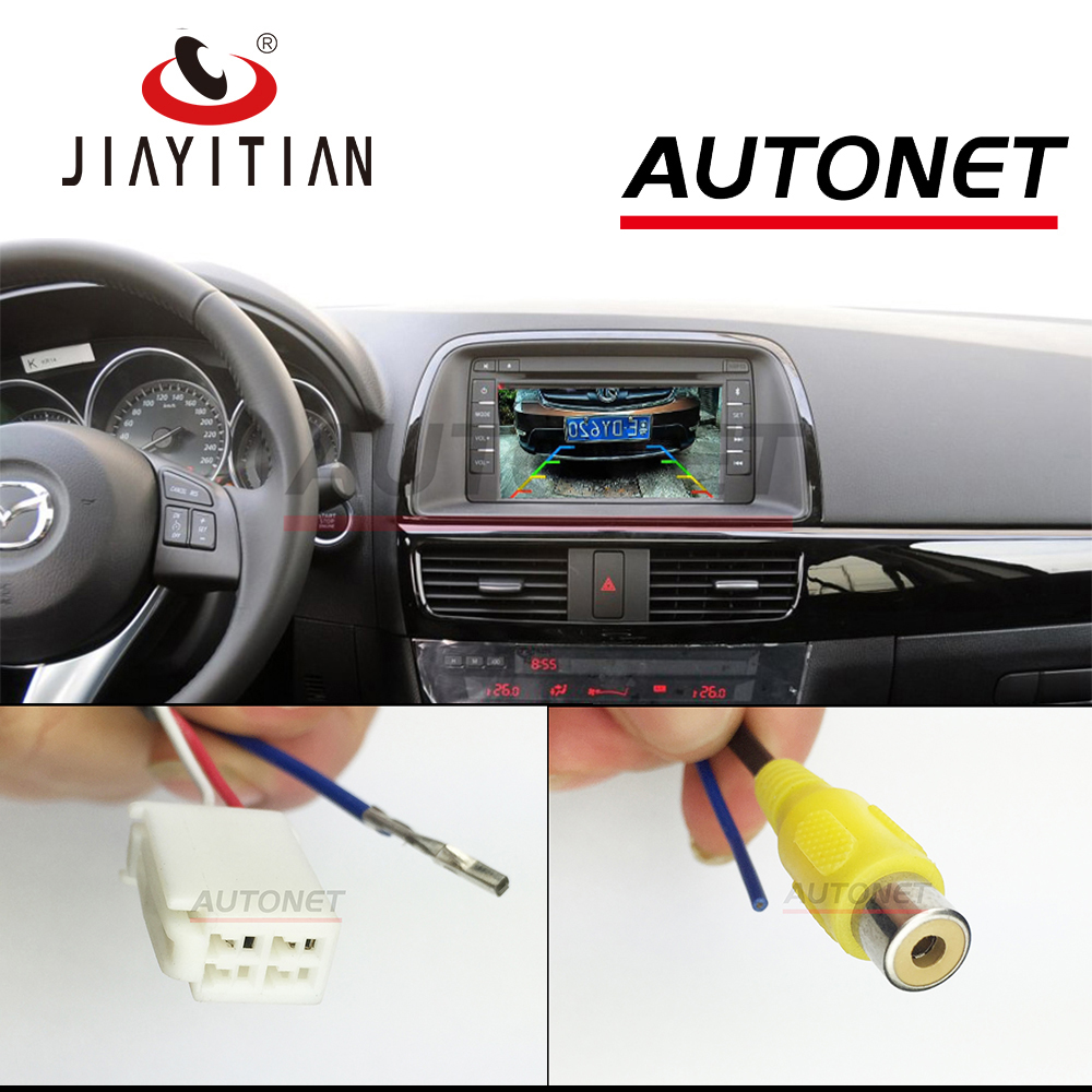 JIAYITIAN Connection Cable For Mazda CX-5 CX 5 CX5 RAC Adapter Cable Reversing Camera/Original Screen Transit Cable