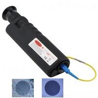 Digital mini Fibra Óptica Inspeção Microscópio 400X 400x Hand Held Hand held detector de fibra óptica final cerâmica rosto