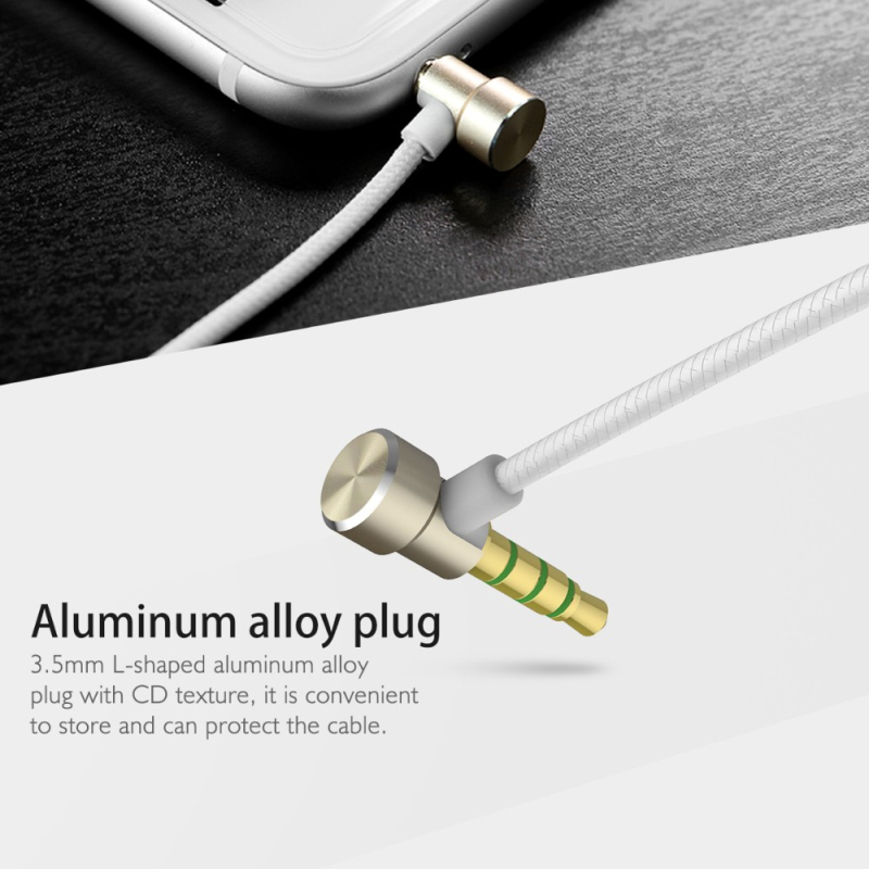 Rock Zircon Stereo Earphone In Ear Headset With Micro 3.5mm In Balanced Immersive Bass Earphones for iPhone for Xiaomi Huawei 17