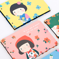 Cute Girls DIY Photo Albums Creative Pasting Album Scrapbook Kit Baby