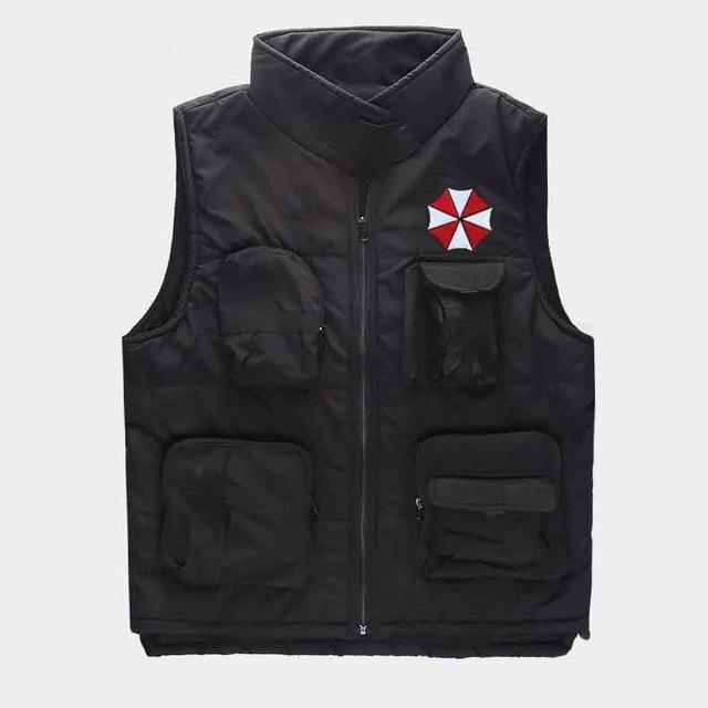 New winter Warm Resident Evil Jacket hoodie Anime Men outdoors Jacket Thicken cotton Coat