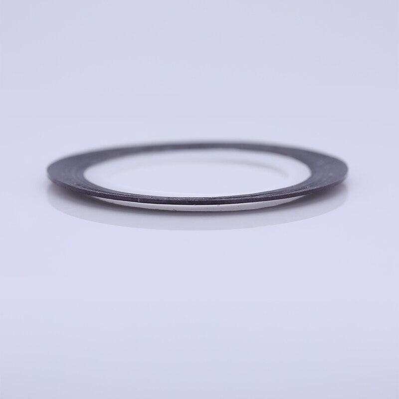 2 мм матовый блеск для ногтей, Чередование ленты линия разноцветные, для ногтей инструмент для укладки волос Стикеры наклейка DIY украшения для ногтей - Цвет: 04