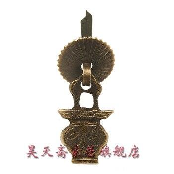 [Haotian vegetarian] antique furniture copper fittings / drawer handle / copper Handle / Chinese copper live HTE-020